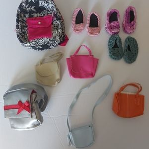 """💰18"""" doll purses and shoes"""